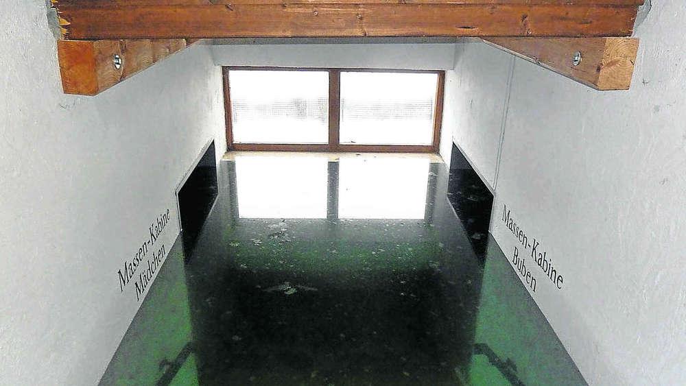 lenggrieser freibad s uft ab 1 80 meter wasser im keller lenggries. Black Bedroom Furniture Sets. Home Design Ideas