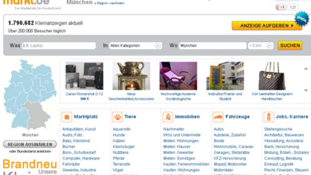 münchen kleinanzeigen sexkontakte markt de