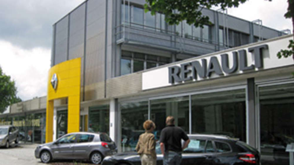 die renault retail group niederlassung m nchen beratung und service am frankfurter ring auto. Black Bedroom Furniture Sets. Home Design Ideas