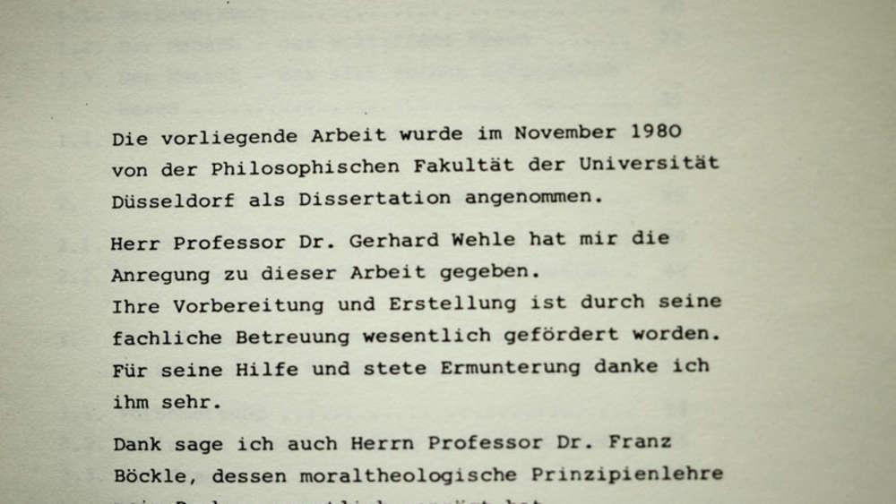 Danksagung dissertation doktorarbeit