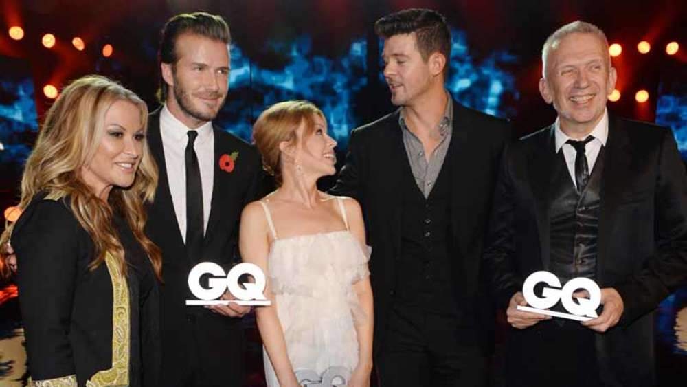 Kylie Minogue, GQ, David Beckham