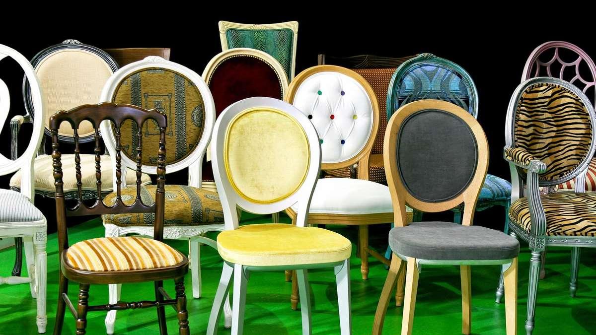 einrichtungstrend weg von einheitlichen st hlen wohnen. Black Bedroom Furniture Sets. Home Design Ideas