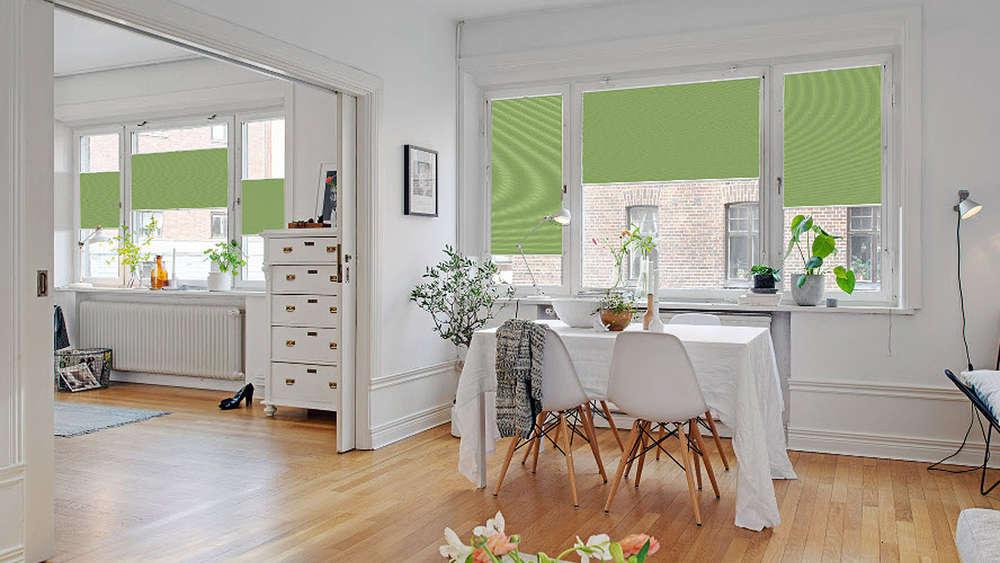 heizkosten reduzieren mit plissees und rollos wohnen. Black Bedroom Furniture Sets. Home Design Ideas