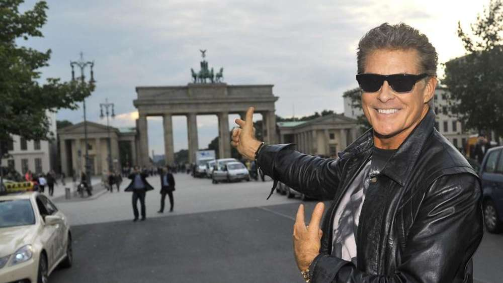 "Wer mal wieder ""Looking For Freedom"" hören will: David Hasselhoff kommt nach Berlin. Foto: Paul Zinken"