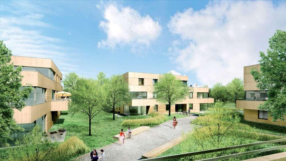f rstenfeldbruck wohnen im park am rasso sportplatz f rstenfeldbruck. Black Bedroom Furniture Sets. Home Design Ideas