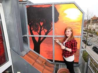 dekoration auf dem balkon was ist erlaubt blumenk sten sonnenschirme etc wohnen. Black Bedroom Furniture Sets. Home Design Ideas