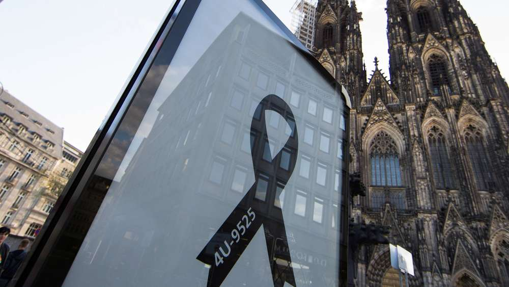 Kölner Dom Germanwings
