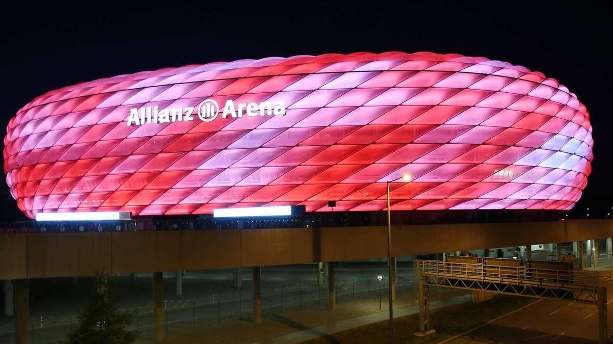 allianz arena 16 millionen farben neues arena licht. Black Bedroom Furniture Sets. Home Design Ideas