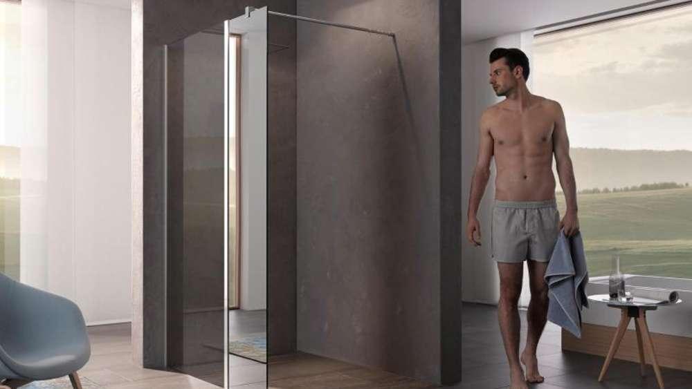 Begehbare dusche ohne glas  Dusche ohne Tür: Verbleibende Wand muss lang genug sein   Wohnen