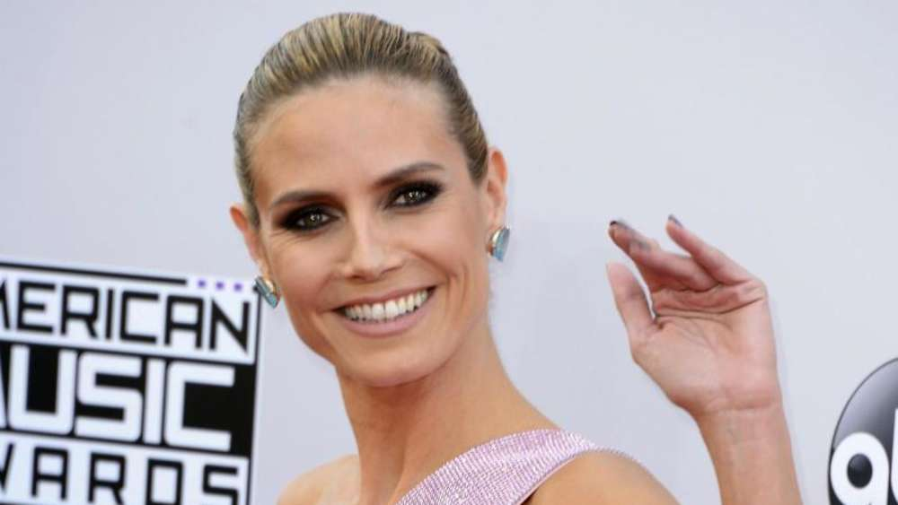 Heidi Klum 2014 bei den American Music Awards in Los Angeles. Foto: Paul Buck
