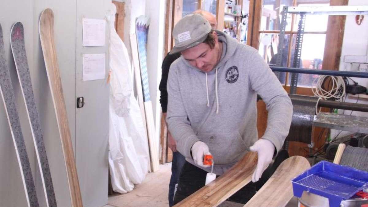hightech bretter marke eigenbau zum skibauen nach farchant reise. Black Bedroom Furniture Sets. Home Design Ideas