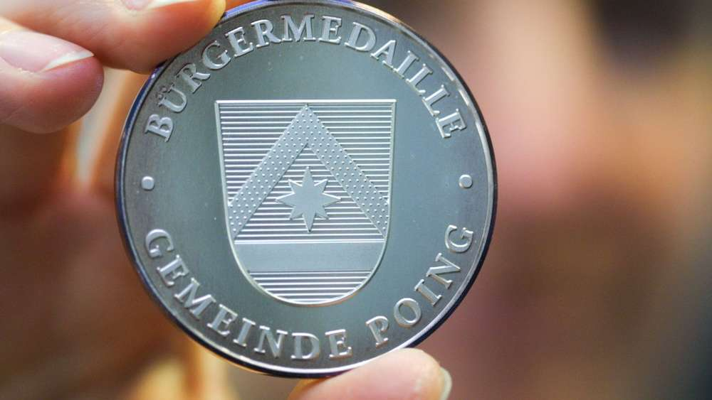 B¸rgermedaille Poing.
