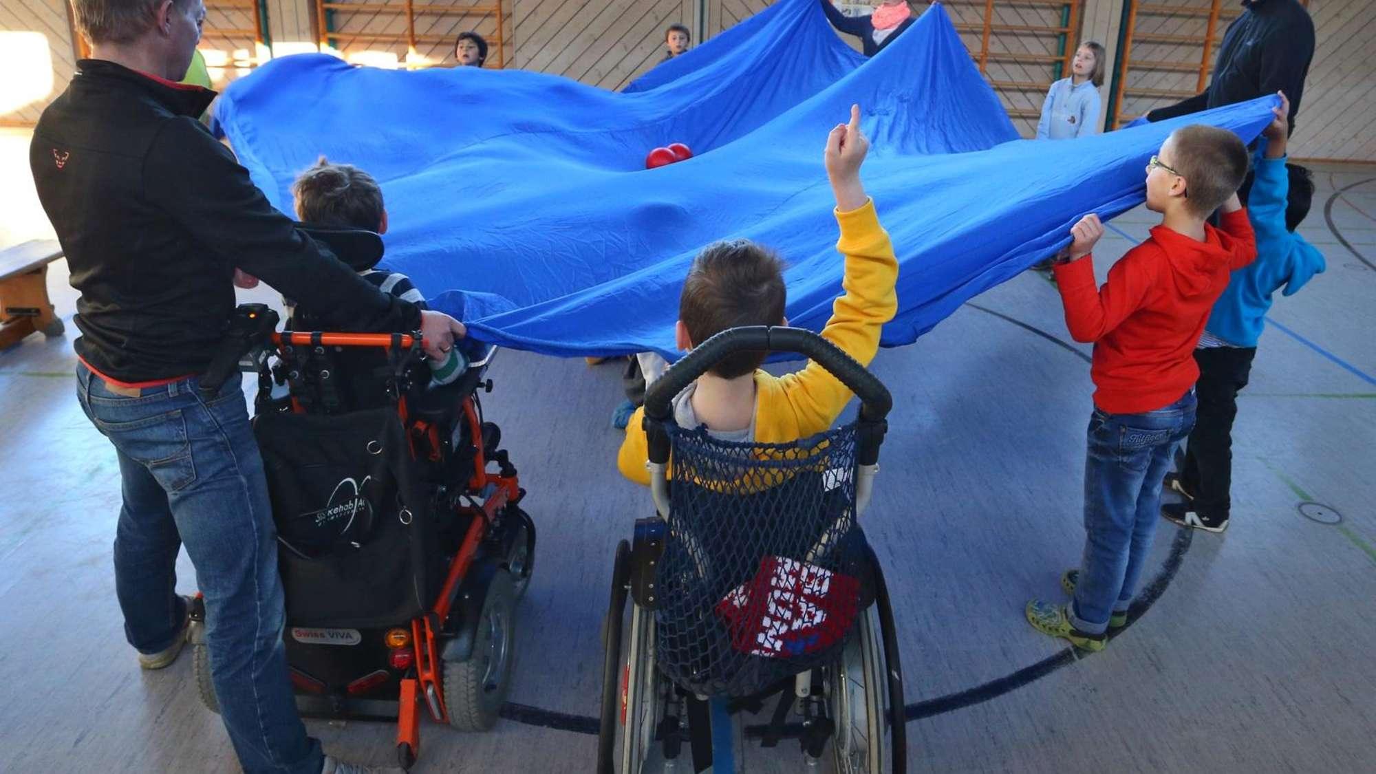 Дети инвалиды в центрах фото