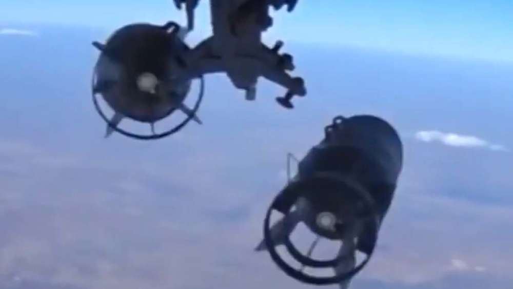 Russland Syrien Bomber