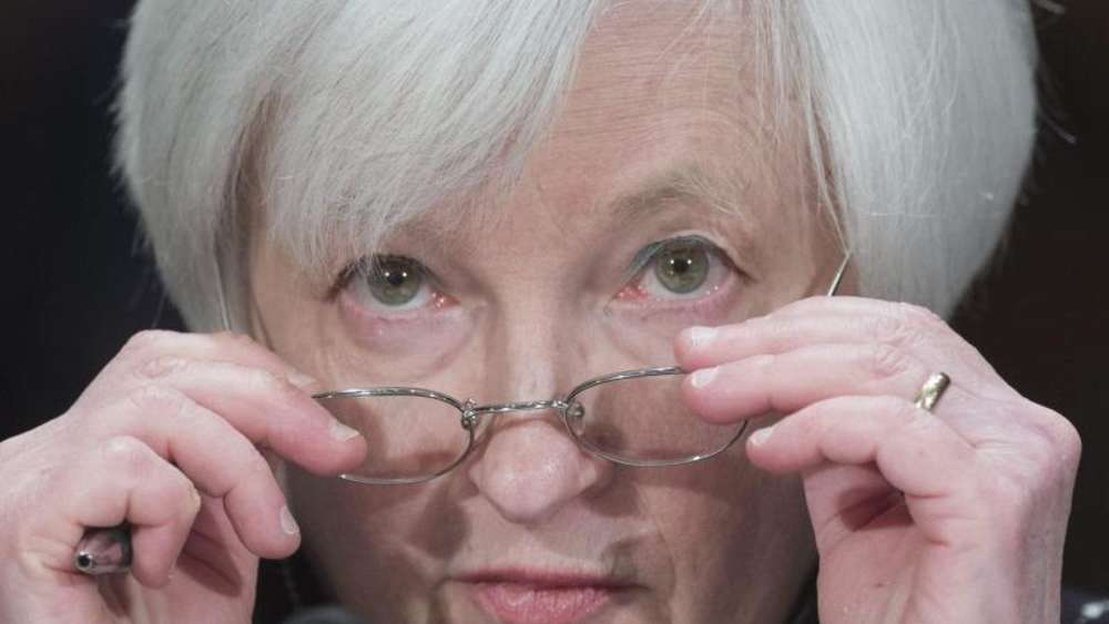Fed-Chefin Janet Yellen. Foto: Michael Reynolds