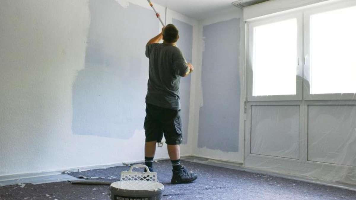 auszug aus der wohnung wann ein mieter streichen muss. Black Bedroom Furniture Sets. Home Design Ideas