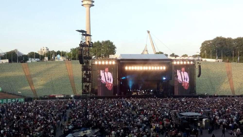 Paul McCartney Olympiastadion München