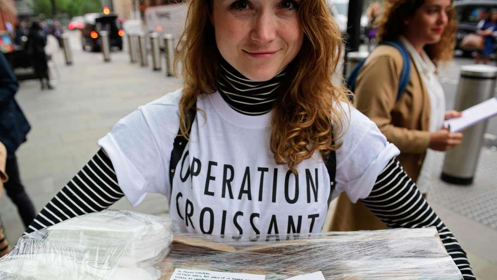 """Opération Croissant"" in London."