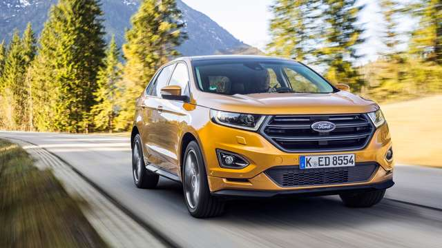 Ford Edge: Neues SUV-Top-Modell bei Kuttendreier