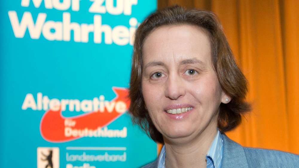 Beatrix von Stroch - censored on social media