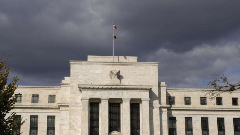Die US-Notenbank in Washington. Foto: Rainer Jensen/Archiv