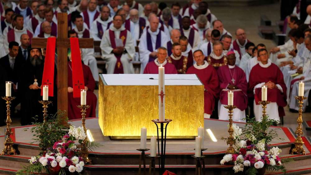 Funeral for Father Jacques Hamel at the Cathedral of Rouen