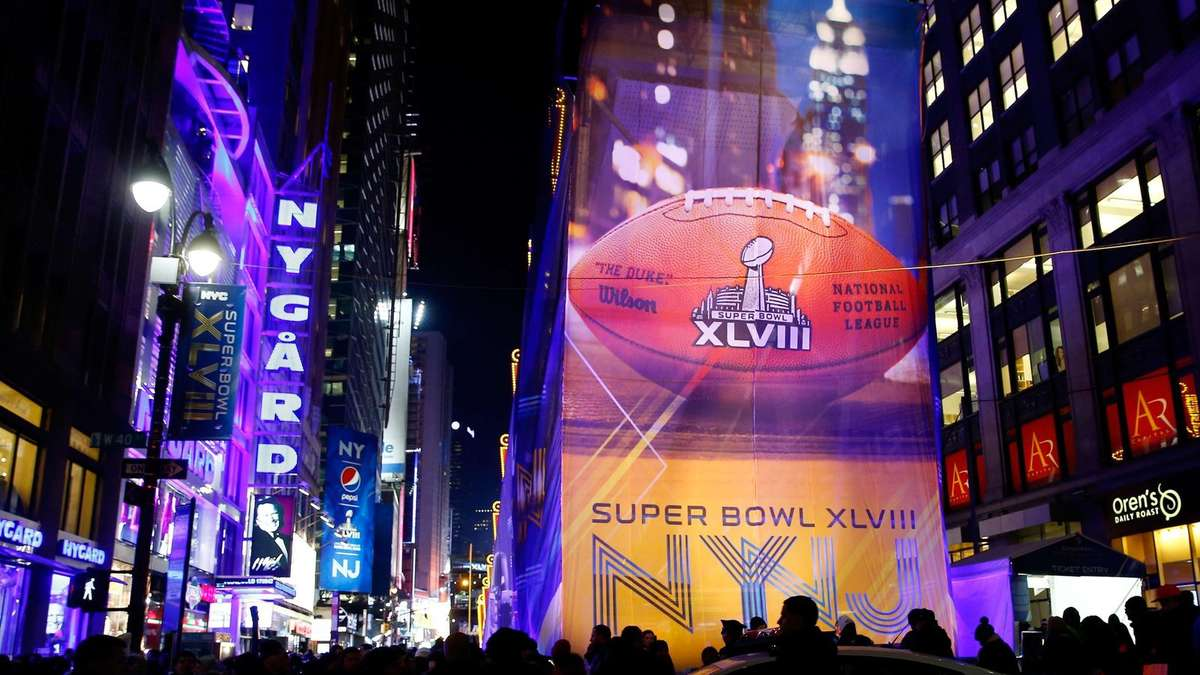 super bowl reise