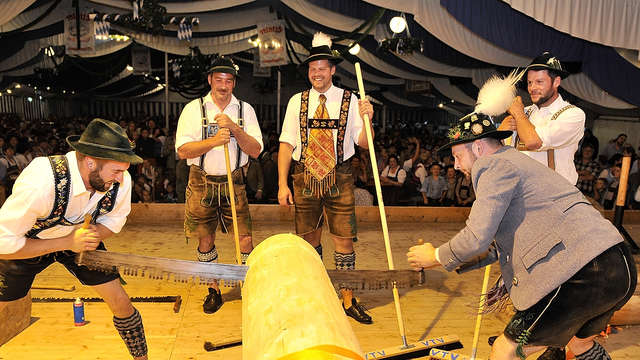 Partenkirchner Festwoche: Tradition statt Party-Musik