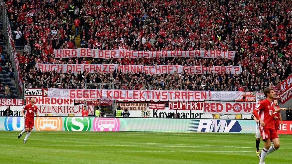 fc bayern gegen frankfurt