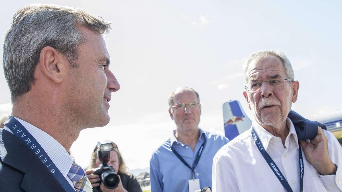 österreich bundespräsidentenwahl umfrage