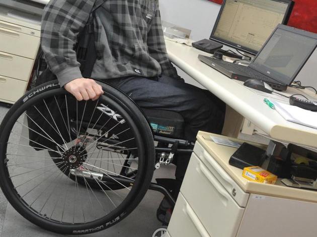 Schwerbehinderte finden nur schwer einen richtigen Job