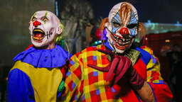 Horror-Clowns auch in Erding