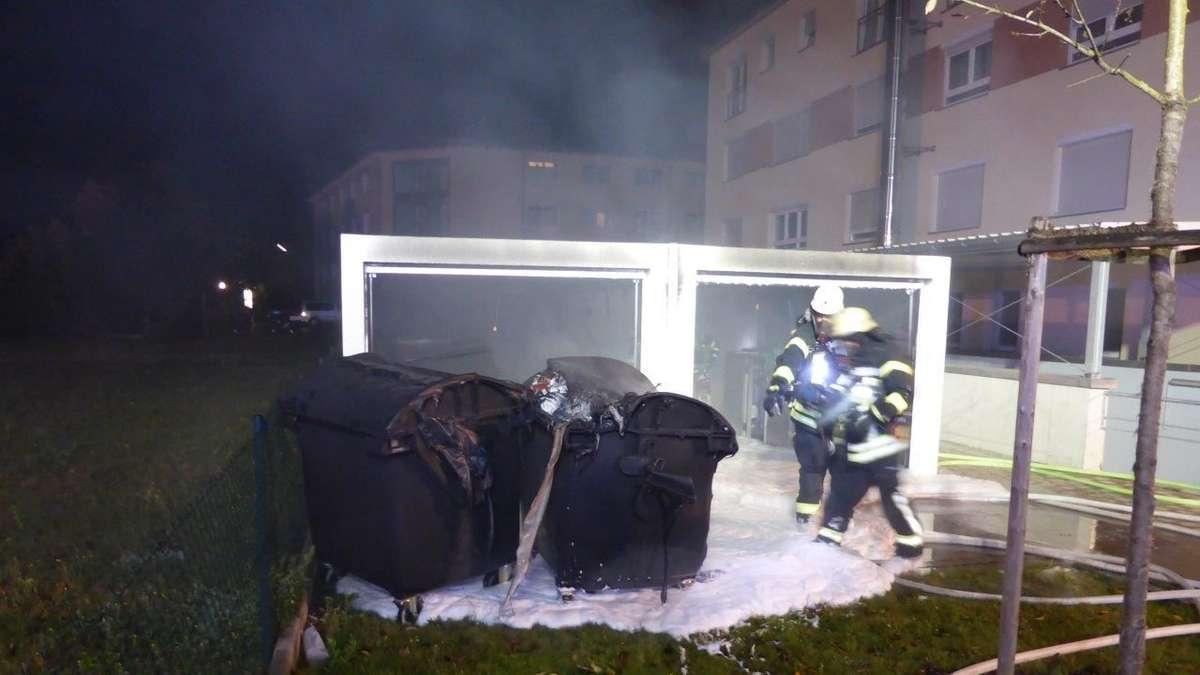 Garagen Fertig Dekoration : Brand in fertig garagen maisach