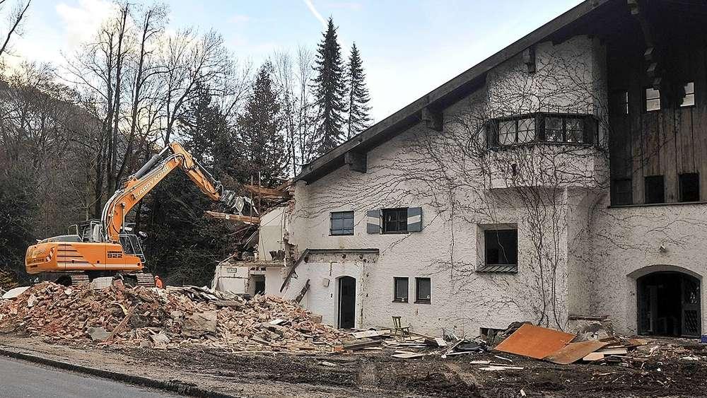 Bichlerhof In Garmisch Partenkirchen Wird Abgerissen