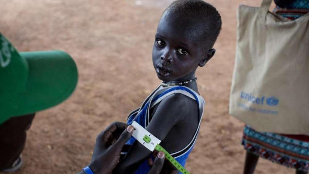 Verheerende Hungersnot im Südsudan: 100.000 droht der Tod