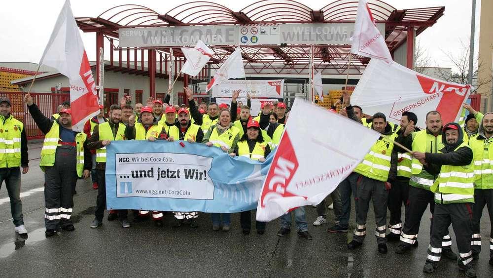 Ossendorf: Streik bei Coca Cola - Produktion soll gestoppt werden