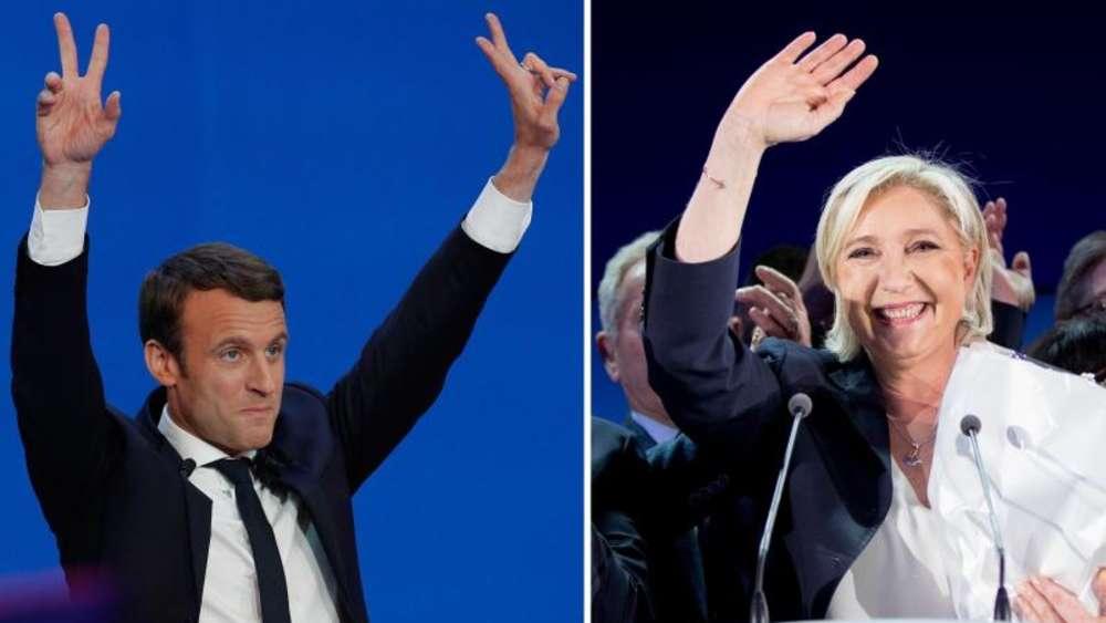 Frankreich: Le Pen oder Macron? Finale der Präsidentenwahl beginnt