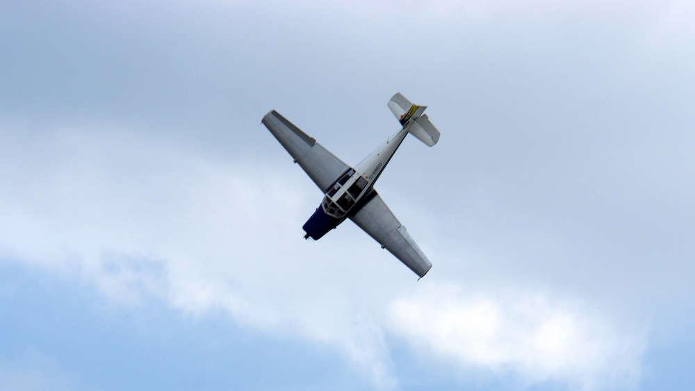 Bruchlandung bei Limburg: Piloten bemerkten Motorprobleme kurz nach Start