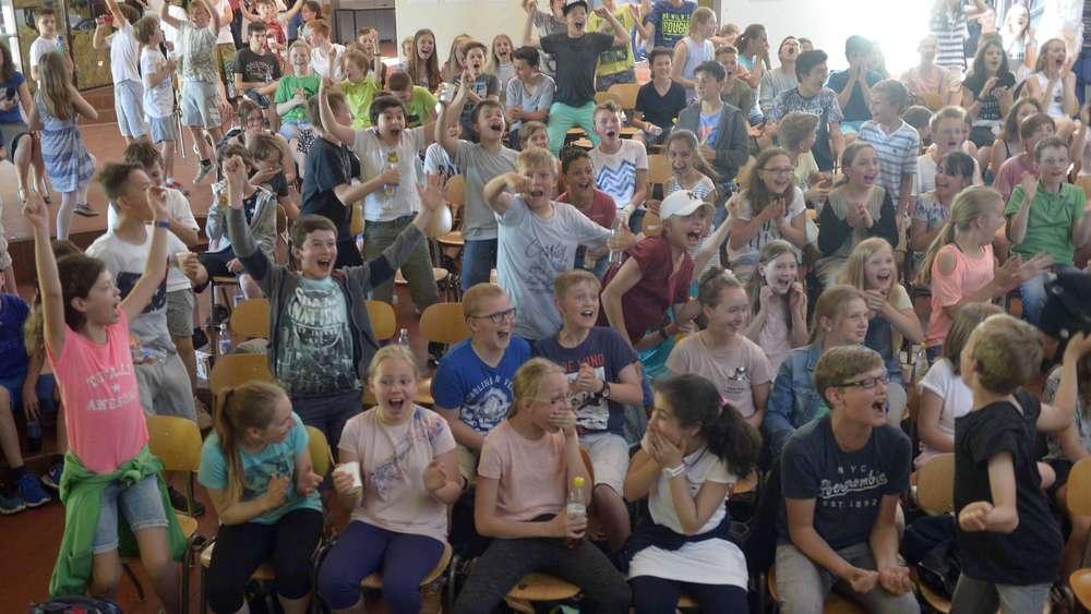 Schule und alle machen mit: Preis für Gymnasium Kirchheim