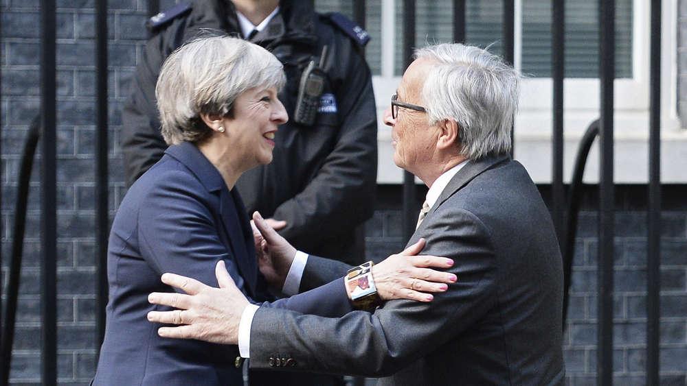 Großbritannien: May kündigt Bildung neuer Regierung an