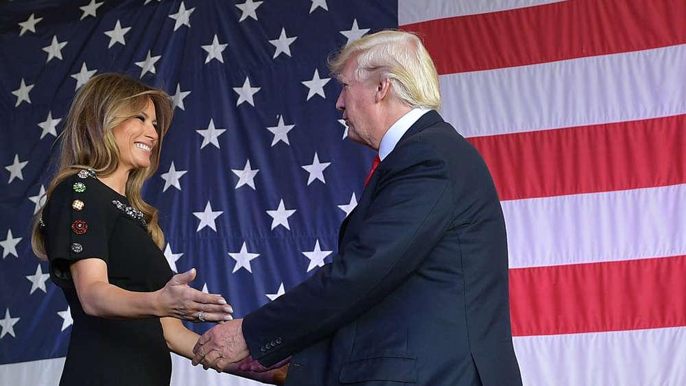 Melania Trump und Sohn Barron ziehen ins Weiße Haus