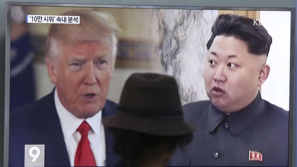 Trump verschärft erneut seinen Ton in Richtung Nordkorea