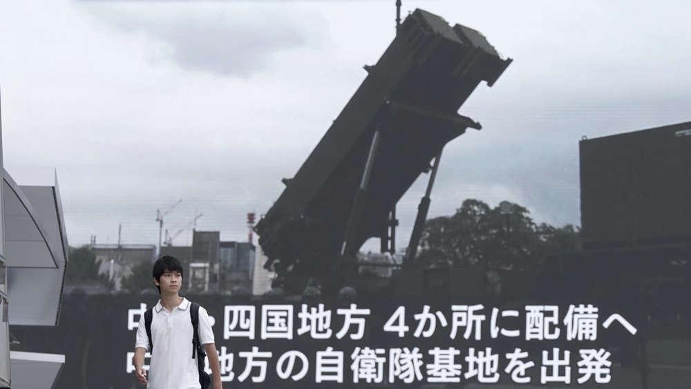 Japan reagiert mit Raketenabwehr auf Guam-Drohung