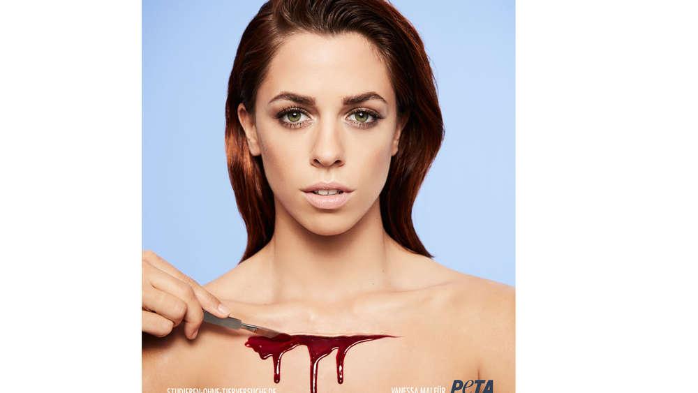 Vanessa Mais schockierendes PETA-Shooting: