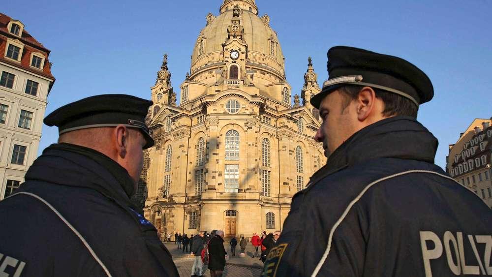 Ist die Dresdner Frauenkirche im Fadenkreuz von Terroristen? Das sagt die Polizei