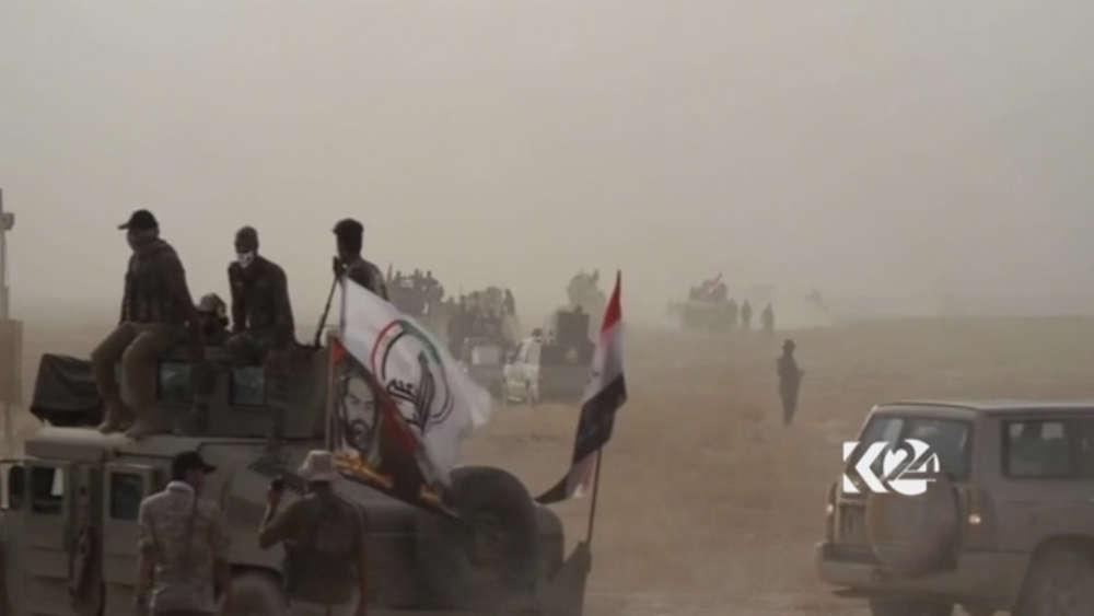 Irakische Truppen erobert Stadt Hawidscha zurück