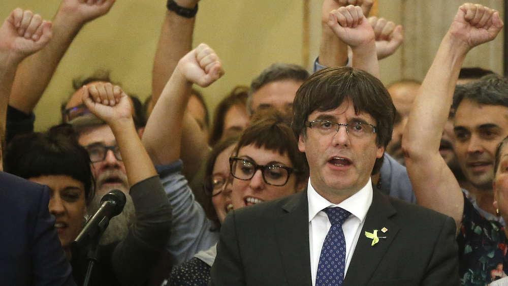 Der abgesetzte katalanische Regionalpräsident Carles Puigdemont
