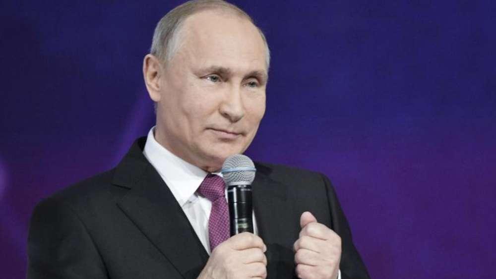 Putin kündigt Kandidatur bei Präsidentenwahl 2018 an