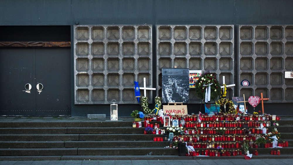 Merkel empfängt Opfer und Hinterbliebene des Terroranschlags