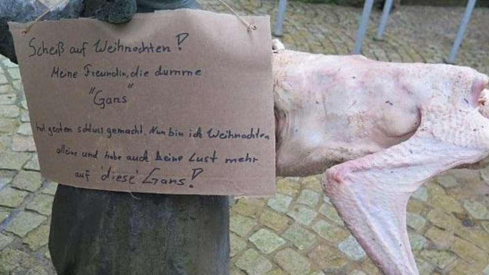 Bad Brückenau: Weihnachtsgans bekam Liebeskummer ab